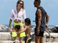Doutzen Kroes : Top model et maman ultrasexy à la plage