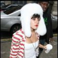 Lily Allen fait du shopping