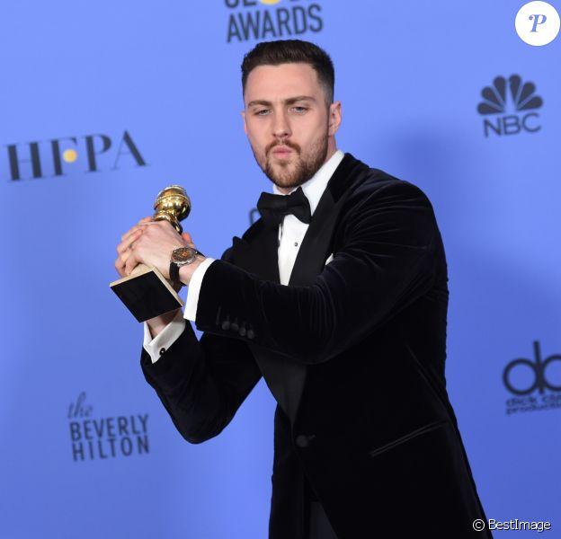 Aaron Taylor Johnson - 74e cérémonie des Golden Globe Awards à Beverly Hills, Los Angeles, le 8 janvier 2017.