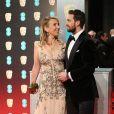 Sam Taylor-Johnson et son mari Aaron Taylor-Johnson - BAFTA 2017 (British Academy Film Awards) à Londres, le 12 février 2017.