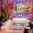 """Exclusif - Cyril Hanouna et ses chroniqueurs - 1000ème de l'émission """"Touche pas à mon poste"""" (TPMP) en prime time sur C8 à Boulogne-Billancourt le 27 avril 2017."""
