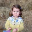 Charlotte, fille du prince William et de la duchesse de Cambridge - photo postée la veille de ses 2 ans.