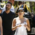 Exclusif - Eva Longoria et son mari à Hawaii. Le 18 avril 2017
