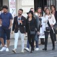 Exclusif - Eva Longoria et son mari José Baston à Bordeaux, France, le 11 avril 2017.