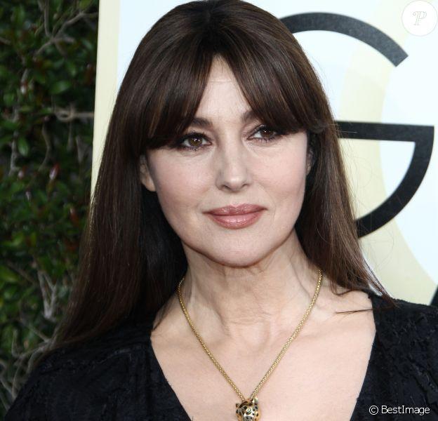Monica Bellucci - 74e cérémonie annuelle des Golden Globe Awards à Beverly Hills. Le 8 janvier 2017