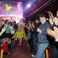 """Exclusif - Guest - Les Stars 80 assistent au spectacle """"Priscilla Folle du désert"""" au Casino de Paris le 21 avril 2017. © Marc Ausset- Lacroix / Bestimage"""