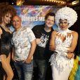 """Exclusif - Début de Soirée - Les Stars 80 assistent au spectacle """"Priscilla Folle du désert"""" au Casino de Paris le 21 avril 2017. © Marc Ausset- Lacroix / Bestimage"""