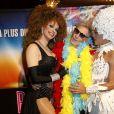 """Exclusif - Plastic Bertrand - Les Stars 80 assistent au spectacle """"Priscilla Folle du désert"""" au Casino de Paris le 21 avril 2017. © Marc Ausset- Lacroix / Bestimage"""