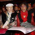 """Exclusif - Laroche Valmont, Joniece Jamison - Les Stars 80 assistent au spectacle """"Priscilla Folle du désert"""" au Casino de Paris le 21 avril 2017. © Marc Ausset- Lacroix / Bestimage"""