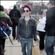 La star Seth Green, que l'on a pu voir dans Buffy, Entourage et Austin Powers, s'est fait une jolie couleur pour venir au Festival de Sundance.