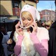 Paris Hilton a tout bon question look au Festival de Sundance ! Euh... en fait, non !!!