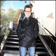La star Jim Carrey, venu au Festival de Sundance sans sa jolie moitié Jenny McCarthy, affiche un style élégant tout en étant décontracté.