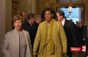 Michelle Obama... une véritable étoile au côté de son mari !