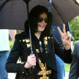 Michael Jackson en famille à Los Angeles. Mai 2009.