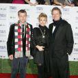 Rick, Kathy et leur fils Conrad Hilton à Los Angeles. Janvier 2009.