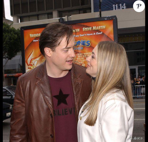 Brendan Fraser et sa femme