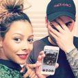 "Nehuda des ""Anges 8"" et Ricardo en couple - Instagram, 2017"