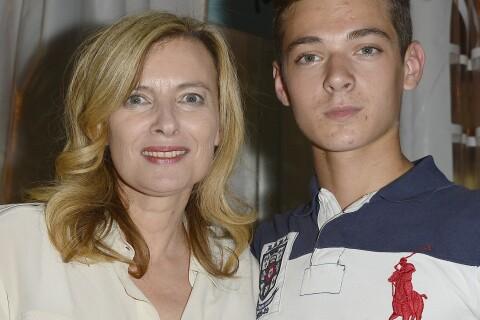 """Valérie Trierweiler, épanouie : """"Ce qui s'est passé nous a soudés avec mes fils"""""""