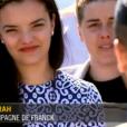 """Sarah, la compagne de Franck - """"Top Chef 2017"""", la finale. Sur M6, le 19 avril 2017."""