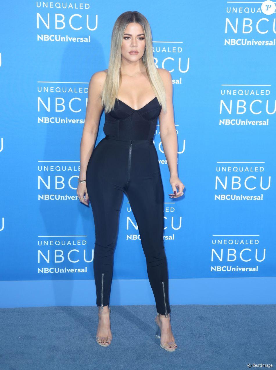 Khloé Kardashian à la soirée NBCUniversal 2017 à New York, le 15 mai 2017
