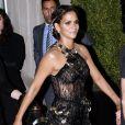 """Halle Berry - Sortie des people du Mark Hotel pour se rendre au MET 2017 Costume Institute Gala sur le thème de """"Rei Kawakubo/Comme des Garçons: Art Of The In-Between"""" à New York, le 1er mai 2017."""