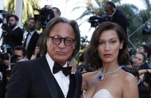 Cannes 2017 : Bella Hadid, au top en robe fendue, au bras de l'homme de sa vie