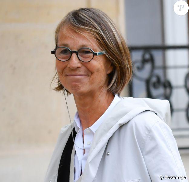 Françoise Nyssen, nouvelle ministre de la Culture - Premier conseil des ministres au Palais de l'Elysée, à Paris, le 18 mai 2017.