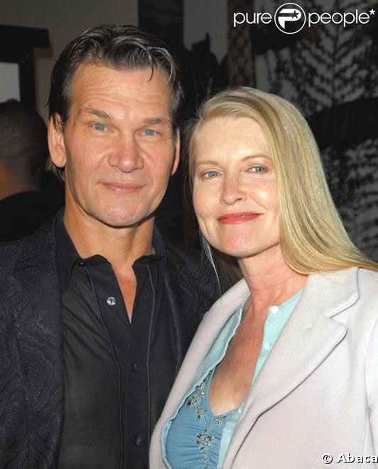 Patrick Swayze et sa femme
