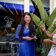 """Exclusif - Gyunel Rustamova a reçu le Global Gift Philthropreneur Award, Eva Longoria, Maria Bravo - 6e dîner du Global Gift Initiative à l'espace """"Mouton Cadet Wine Bar"""" sur le toit du Palais des Festivals, lors du 70e Festival International du Film de Cannes, le 19 mai 2017.© Giancarlo Gorassini/Bestimage"""