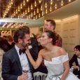 """Exclusif - Eva Longoria et son mari Jose Baston  - 6e dîner du Global Gift Initiative à l'espace """"Mouton Cadet Wine Bar"""" sur le toit du Palais des Festivals, lors du 70e Festival International du Film de Cannes, le 19 mai 2017.© Giancarlo Gorassini/Bestimage"""