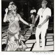 Beyoncé et son mari Jay Z lors de la baby-shower organisée pour la prochaine naissance des jumeaux - Photo publiée sur Instagram le 22 mai 2017