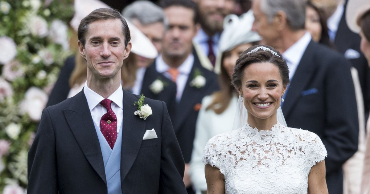 pippa middleton et james matthews ont c l br leur mariage le 20 mai 2017 en l 39 glise st mark. Black Bedroom Furniture Sets. Home Design Ideas