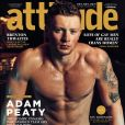 Adam Peaty ultra sexy en couvertude du magazine Attitude.