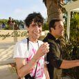 """Levi Dylanau défilé de mode Philipp Plein dans la villa """"La Jungle du Roi"""" lors du 70ème festival de Cannes le 24 mai 2017."""