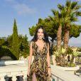 """Andreea Sasuau défilé de mode Philipp Plein dans la villa """"La Jungle du Roi"""" lors du 70ème festival de Cannes le 24 mai 2017."""
