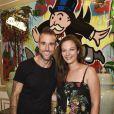 """Philipp Plein, Lena Obschinskyau défilé de mode Philipp Plein dans la villa """"La Jungle du Roi"""" lors du 70ème festival de Cannes le 24 mai 2017."""