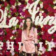 """Aglaë Dreyerau défilé de mode Philipp Plein dans la villa """"La Jungle du Roi"""" lors du 70ème festival de Cannes le 24 mai 2017."""