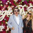 """Monty Shadow et Audrey Trittoau défilé de mode Philipp Plein dans la villa """"La Jungle du Roi"""" lors du 70ème festival de Cannes le 24 mai 2017."""