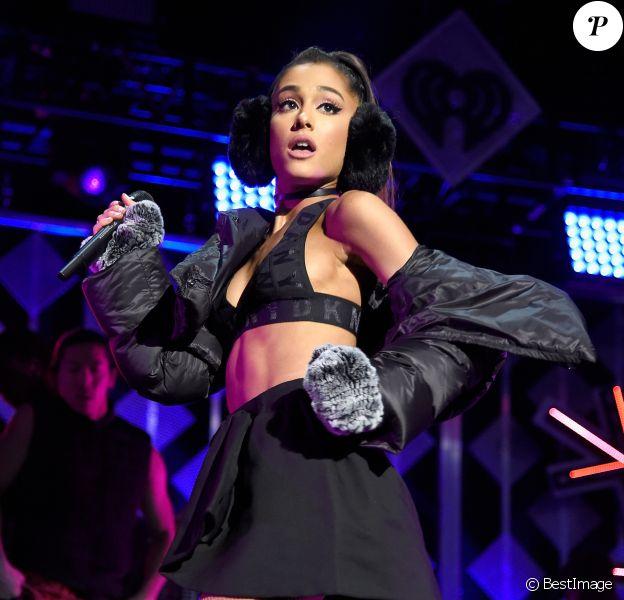 """Ariana Grande - Soirée """"Z100's Jingle Ball 2016"""" au Madison Square Garden à New York, le 9 décembre 2016."""