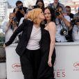 """Emmanuelle Seigner et Eva Green - Photocall du film """"D'Après Une Histoire Vraie"""" lors du 70e Festival International du Film de Cannes le 27 mai 2017"""