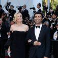 Diane Kruger et Fatih Akin - Montée des marches de la cérémonie de clôture du 70e Festival International du Film de Cannes. Le 28 mai 2017. © Borde-Jacovides-Moreau/Bestimage