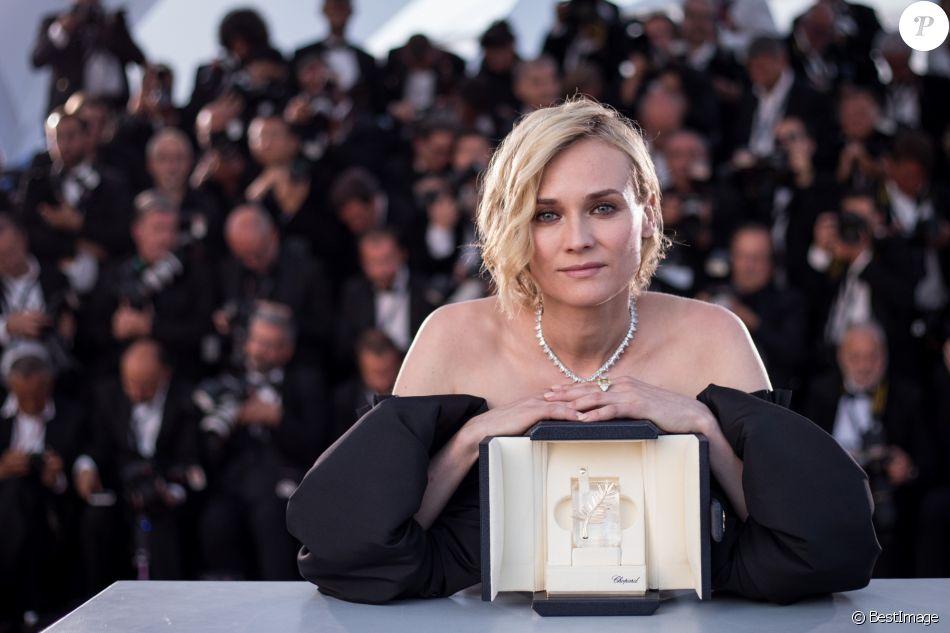 Diane Kruger (Prix d'Interprétation féminine pour le film « In The Fade ») - Photocall de la remise des palmes du 70ème Festival International du Film de Cannes. Le 28 mai 2017. © Borde-Jacovides-Moreau/Bestimage