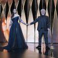 Monica Bellucci, Pedro Almodovar - Cérémonie d'ouverture du 70ème Festival International du Film de Cannes. Le 17 mai 2017 © Borde-Jacovides-Moreau / Bestimage