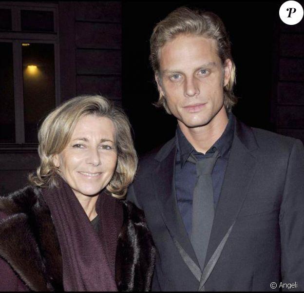 Claire Chazal et Arnaud Lemaire au dîner de Gala du Prix d'Amérique Marionnaud. 24/01/09