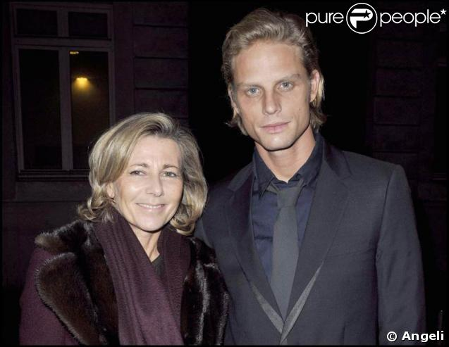 arnaud lemaire et claire chazal un couple amoureux au top de l 39 l gance purepeople. Black Bedroom Furniture Sets. Home Design Ideas