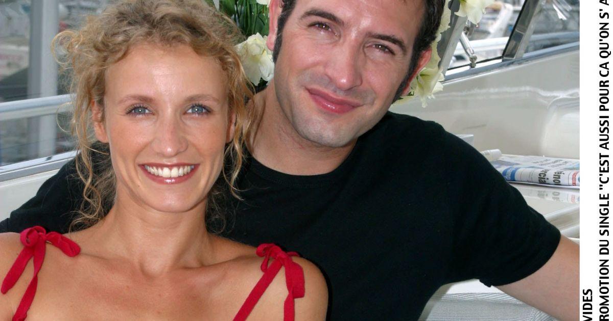 Jean dujardin avec alexandra lamy dans un gars une fille for Dujardin un une