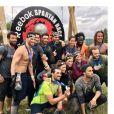 De nombreuses célébrités réunies le 3 juin 2017 après la Spartan Race.
