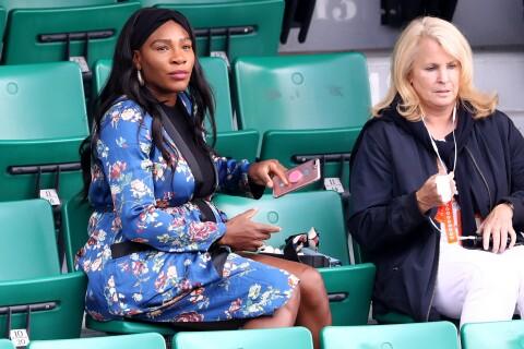 Serena Williams : Enceinte et stylée à Roland-Garros, comme Jelena Djokovic