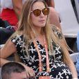 Jelena Djokovic, enceinte, à Roland-Garros à Paris, le 31 mai 2017. © Dominique Jacovides - Cyril Moreau/ Bestimage