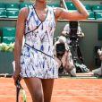 Venus Williams lors de sa victoire contre Kurumi Nara à Roland-Garros le 31 mai 2017.